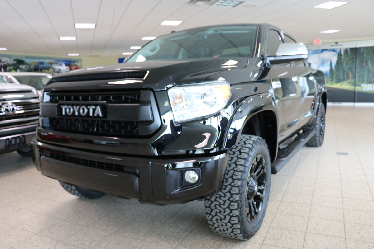 2016 Tundra Black Lifted With Trd Pro Grille